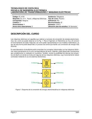 descripción del curso 1. objetivo general - Escuela de Ingeniería ...