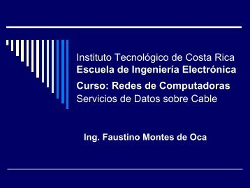Redes de Computadoras Servicios de Datos sobre C - Escuela de ...