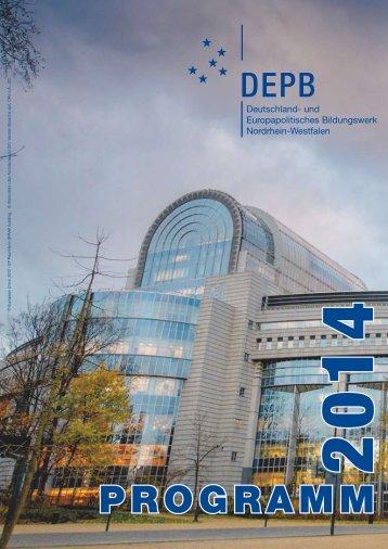 PROGRAMM - und Europapolitisches Bildungswerk NRW