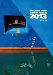 Konzern-Zwischenmitteilung im 2. Halbjahr - Softship AG