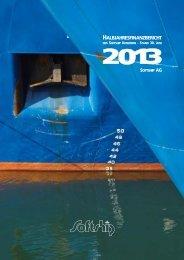Konzern-Finanzbericht (Halbjahr) - Softship AG