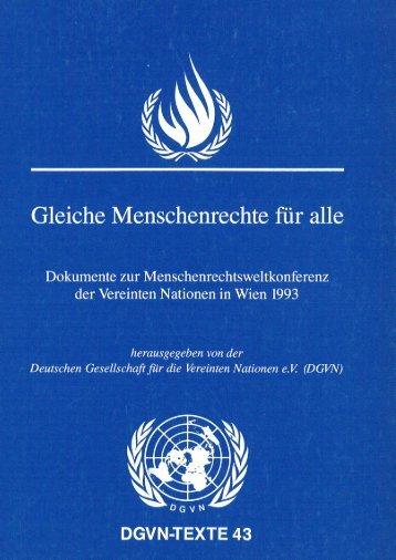 Wiener Erklärung und Aktionsprogramm - Deutsche Gesellschaft für ...