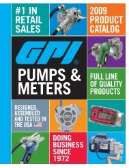 PUMP SPeCS - Industrial Electronics GmbH