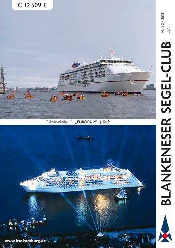 Ausgabe 02/2013 (Juni/Juli) - Blankeneser Segel-Club eV