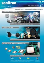 specifications - Industrial Electronics GmbH