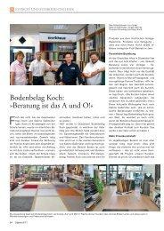 Artikel lesen - Bodenbelag Koch Düsseldorf