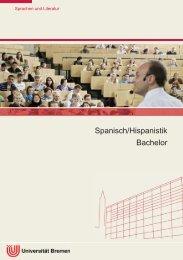 Informationsbroschüre - Datenbank Studium - Universität Bremen