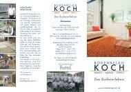 Download Hausprospekt (1 3 MB) - Bodenbelag Koch Düsseldorf