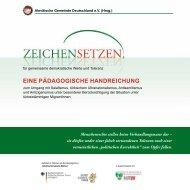 Pädagogische Handreichung - Alevitische Gemeinde Deutschland eV