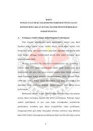 BAB II PENGGUNAAN BUKU ELEKTRONIK ... - Repository UPI