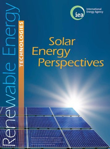 Solar Energy Perspectives - IEA
