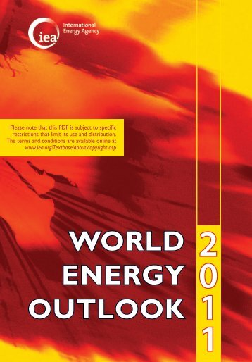 World Energy Outlook 2011 - IEA