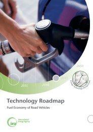 Technology Roadmap Fuel Economy of Road Vehicles - IEA