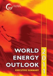 World Energy Outlook 2011: Executive Summary - IEA