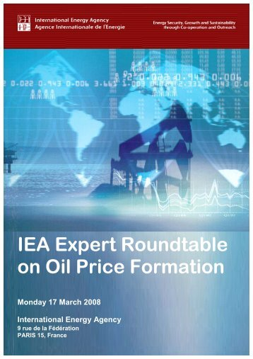 IEA Expert Roundtable on Oil Price Formation