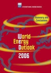World Energy Outlook - 2006 - IEA
