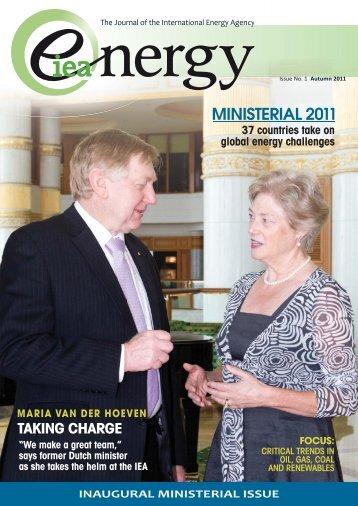 The Journal of the International Energy Agency - IEA