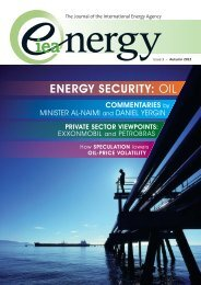 ENERGY SECURITY: OIL - IEA