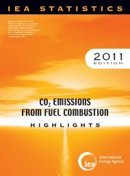 CO2 Emissions from Fuel Combustion - 2011 Highlights - IEA