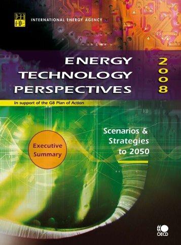 Energy Technology Perspectives 2008 - IEA