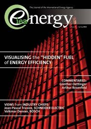 IEA Energy: Issue 4 - Visualising the