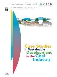 Case Studies in Sustainable Development - IEA