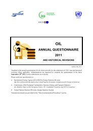 Attached is the annual questionnaire for coal ... - Eurostat - Europa