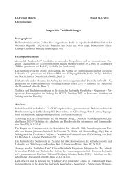 Schriftenverzeichnis (PDF-Datei) - Militärgeschichtliches ...