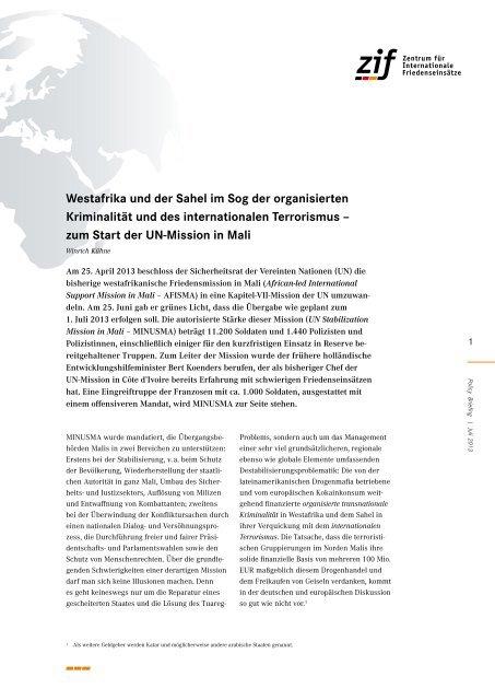 die organisierte Drogenkriminalität - Deutsche Gesellschaft für die ...