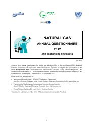 Reporting instructions: Natural Gas - Eurostat - Europa