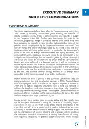 executive summary and key recommendations - European ...