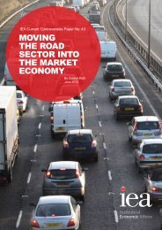 Moving the Road Sector into the Market Economy - Institute of ...