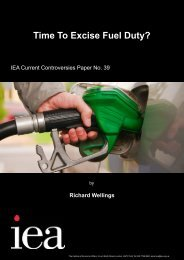 Time to excise fuel duty.pdf - Institute of Economic Affairs