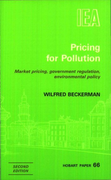 PRICING FOR POLLUTION.pdf - Institute of Economic Affairs