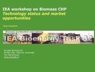 Introduction and welcome, Jaap Koppejan - IEA Bioenergy Task 32