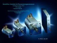 Sensorlose Antriebe mit Permanentmagnetmotoren - Elektrische ...