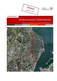 Landeshauptstadt Kiel - Strukturanalyse Düsternbrook