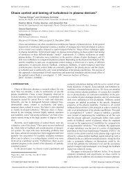 Using PHP format - Institut für Experimentelle und Angewandte Physik