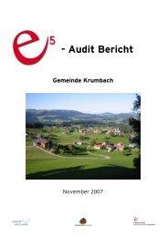- Audit Bericht - Krumbach