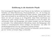 Einführung in die kinetische Physik