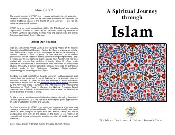 A Spiritual Journey through Islam - IECRC