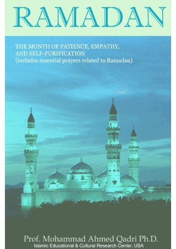 Ramadan: The Month of Patience, Empathy, and Self - IECRC