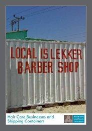 Hair Salons - Sustainable Livelihoods Foundation