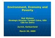 Slides (PDF, 2.5 MB) - Institute for Environmental Decisions IED