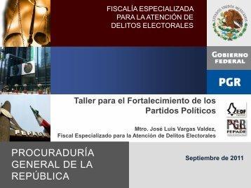 Delitos Electorales - Instituto Electoral del Distrito Federal