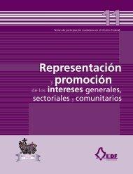 Representación y promoción - Instituto Electoral del Distrito Federal