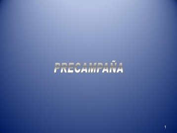 Precampaña - Instituto Electoral del Distrito Federal