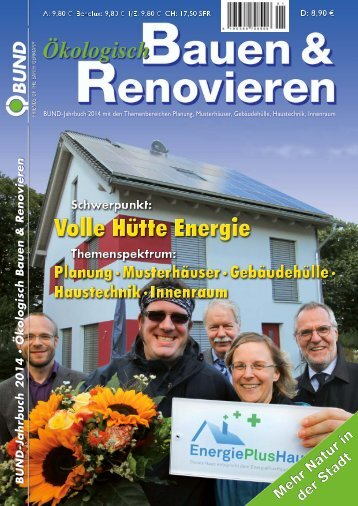 Ökologisch Bauen & Renovieren Jahrbuch 2014 30.10.2013 - Baufritz