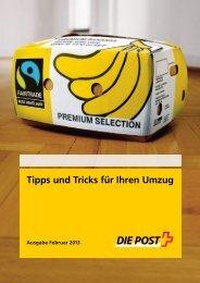 Tipps und Tricks für Ihren Umzug - Die Post