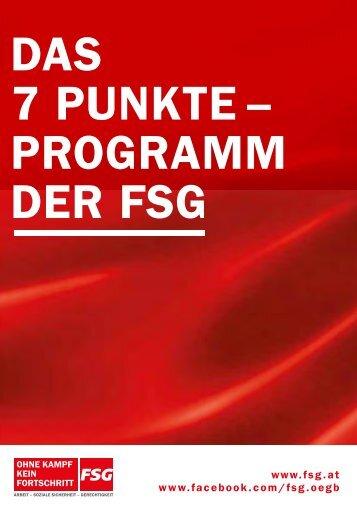 Das Programm finden Sie HIER ZUM DOWNLOADEN (PDF) - FSG